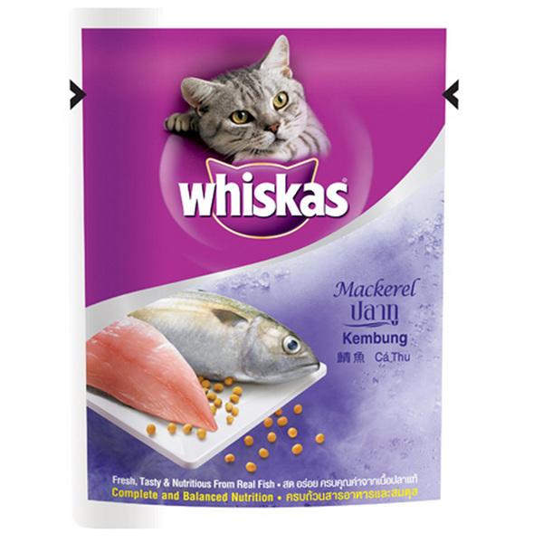 Pate Cho Mèo Whiskas Vị Cá Thu (Mackarel)